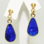 Deep Blue Andamuca Earrings
