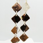Gold Geometric Earrings 006