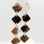 Gold Geometric Earrings 006