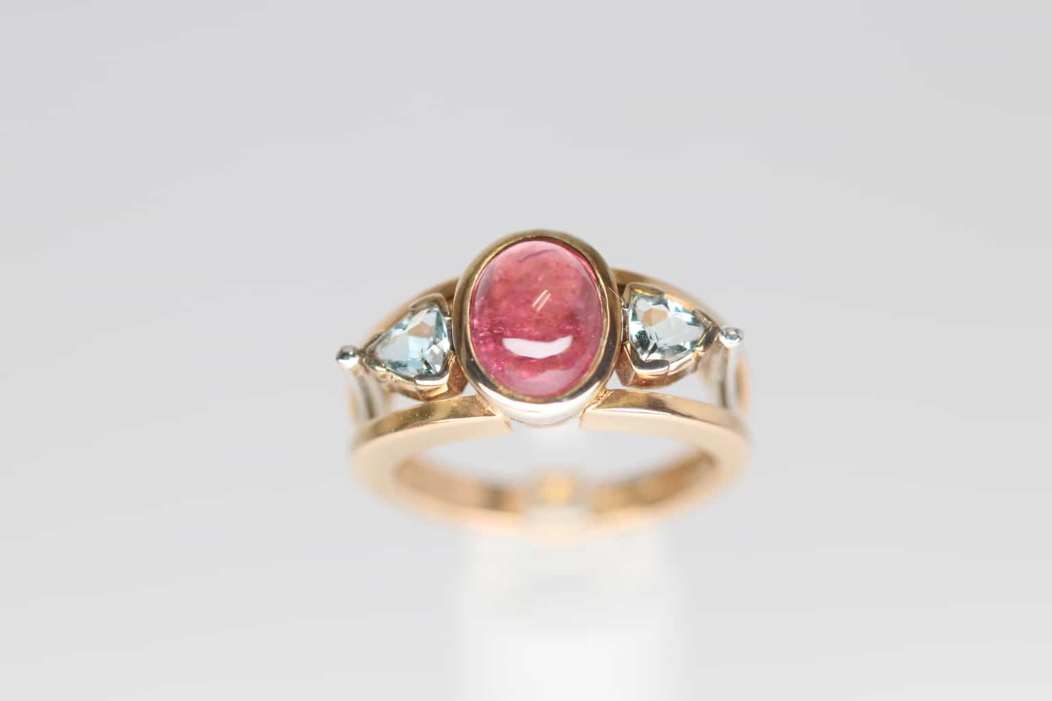 gold william cabochon ruby christopher jewellery ring sydney silver rings