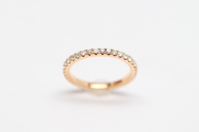 Rose Gold Full Anniversary Band David Adams Fine Jewelry